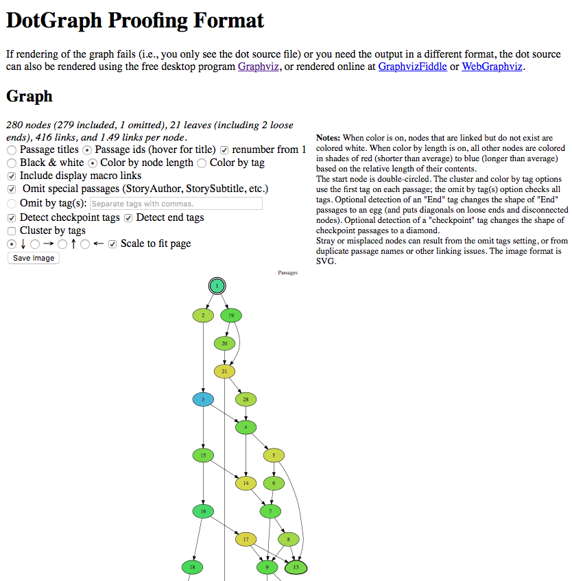 The DotGraph UI